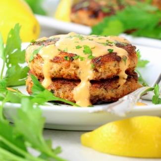 Easy Low Carb Salmon Patty Recipe