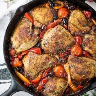 One Pot Chicken Fricassee (Gluten Free)