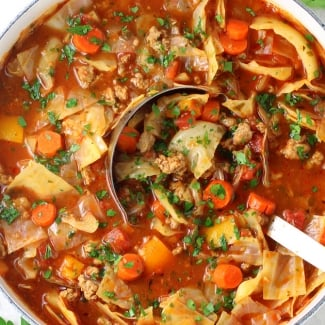 Cabbage Roll Soup (Low Carb & Gluten Free)