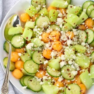 Summer Melon Salad with Feta