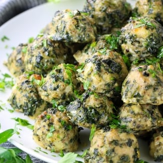 Spinach Feta Chicken Meatballs (Meal Prep)