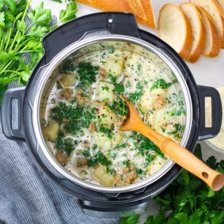 Instant Pot Zuppa Toscana (Gluten Free)