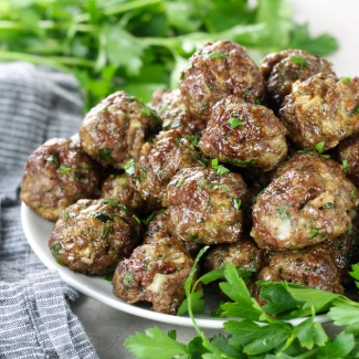 Air Fryer Italian Meatballs