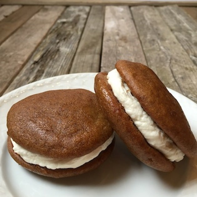 Pumpkin Whoopie Pies With Cream Cheese Filling | Taste And See