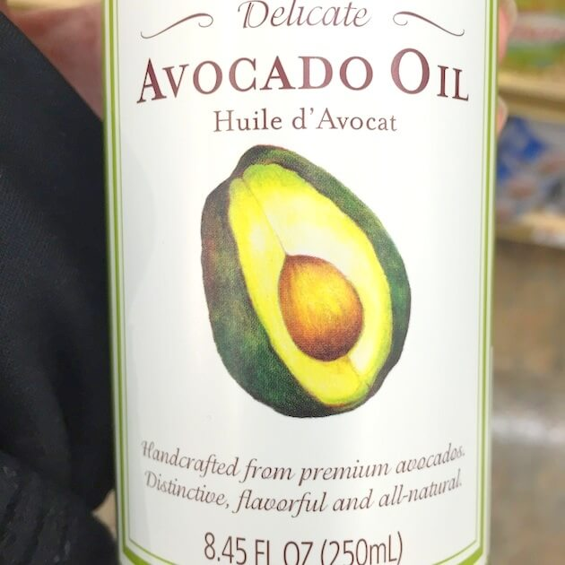 Avacado oil