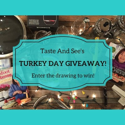 Turkey Day Giveaway!