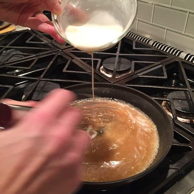 flour into juice 3 cool