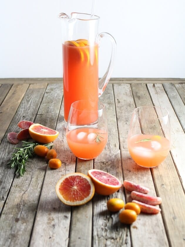 Aperol Punch Pitcher