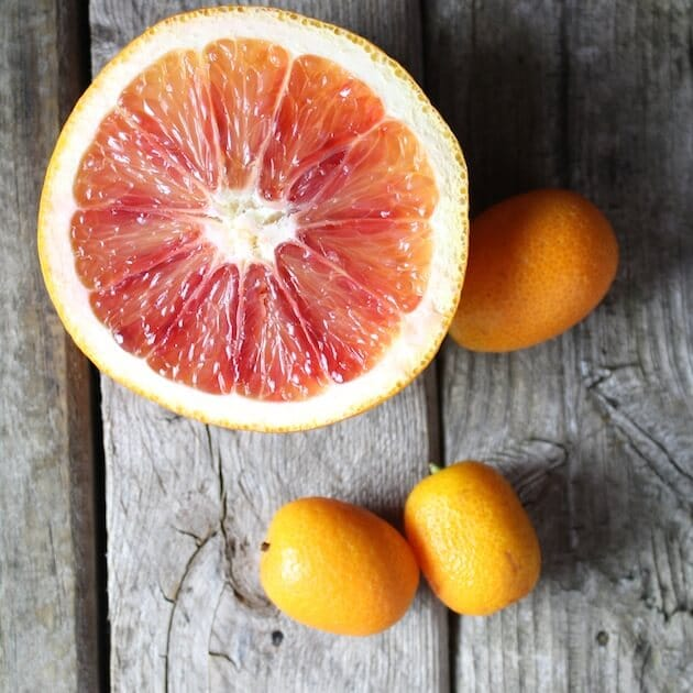 Blood Oranges For Aperol Punch