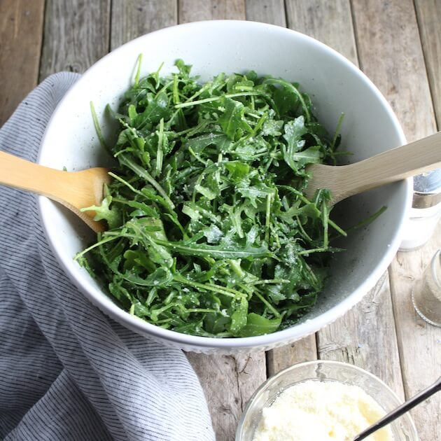 Arugula Salad With Parmesan & Lemon