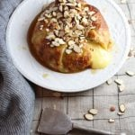 Baked Brie in Puff Pastry with Honey and Almonds