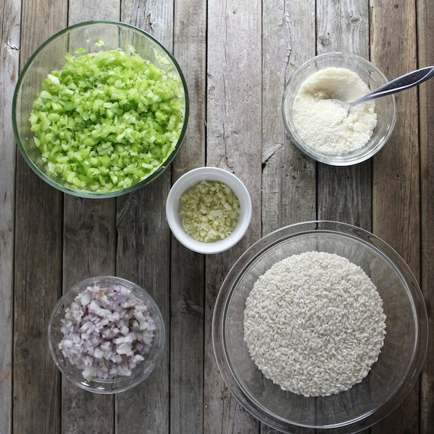 Creamy Parmesean Risotto Ingredients