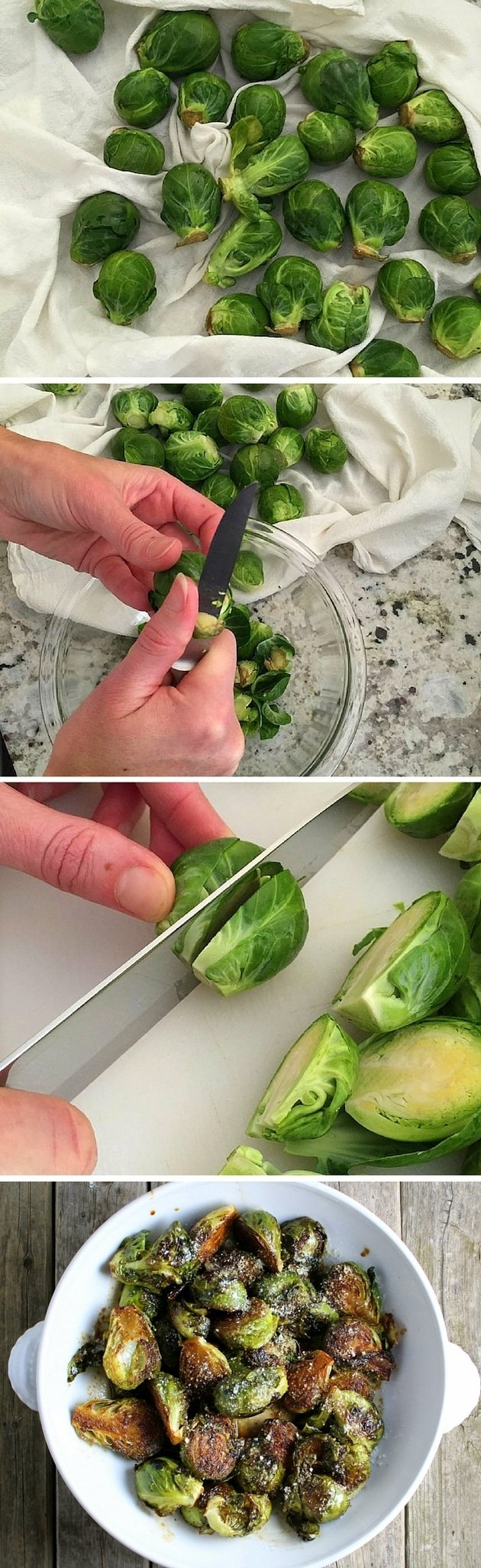 These Balsamic Glazed Brussels Sprouts are the perfect balance of savory and sweet!  #sauteed #healthy #recipes #veggies #tasteandsee.com || https://tasteandsee.com ||