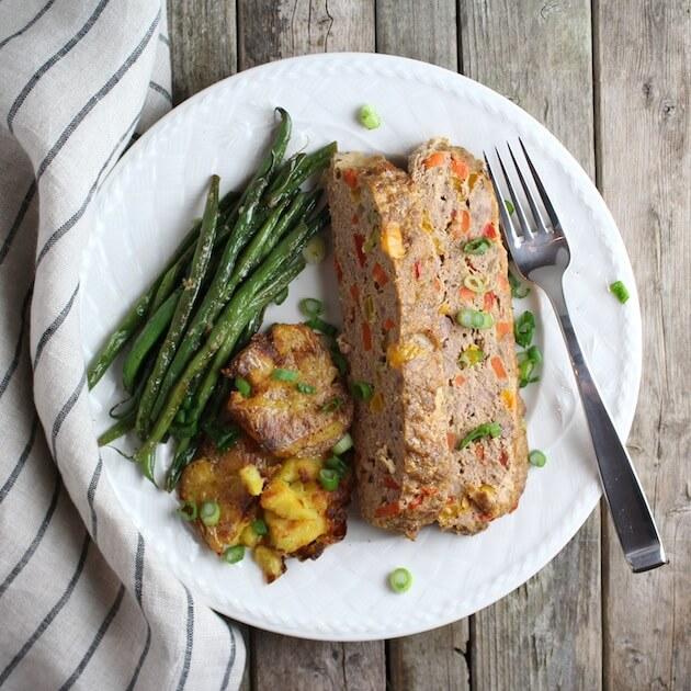 Farmer's Market Meat Loaf plate 7