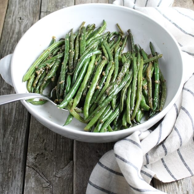 Garlic Green Bean perfect