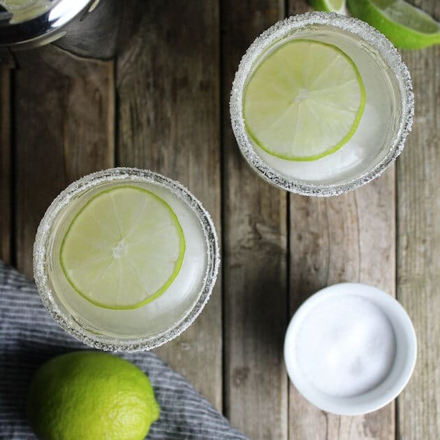 The Elderflower Margarita