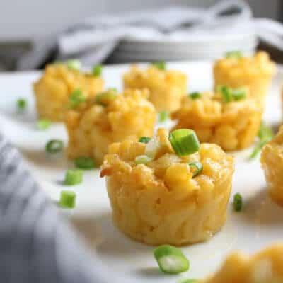 Mac N Cheese Bites