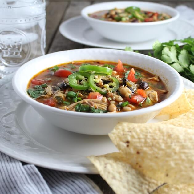 Smoky Chicken Chili
