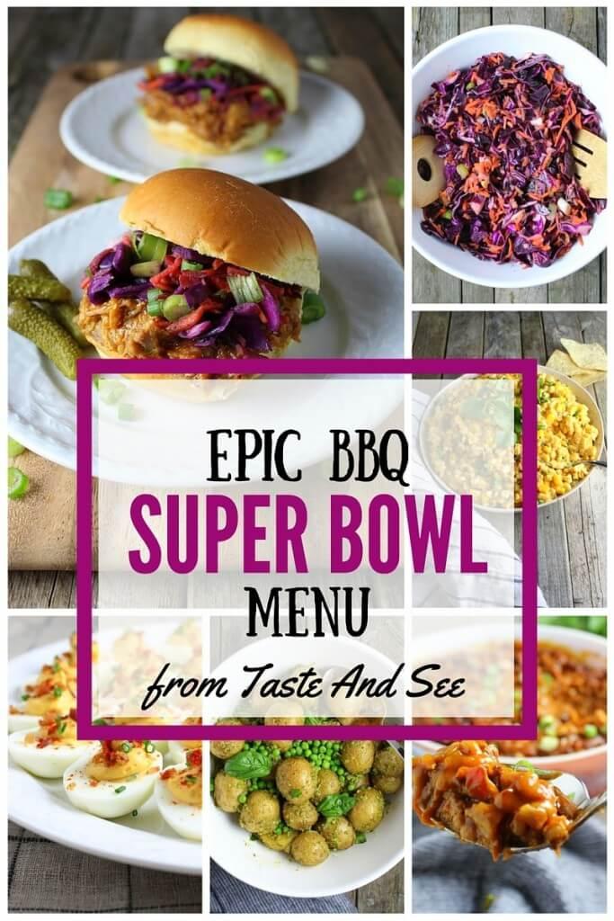 Epic BBQ Super Bowl Menu