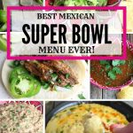 Mexican recipes for football entertaining