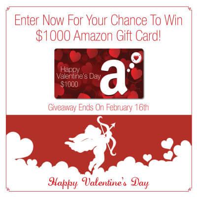 Valentine's $1000 Amazon Giveaway!