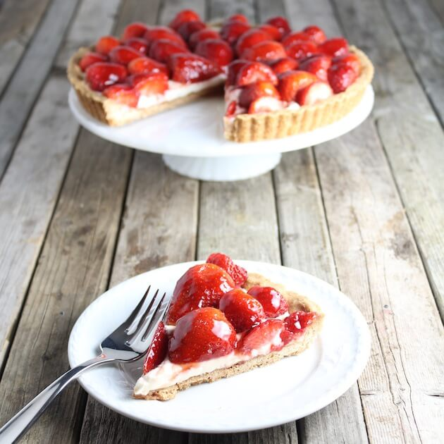 Strawberry Mascapone Tart