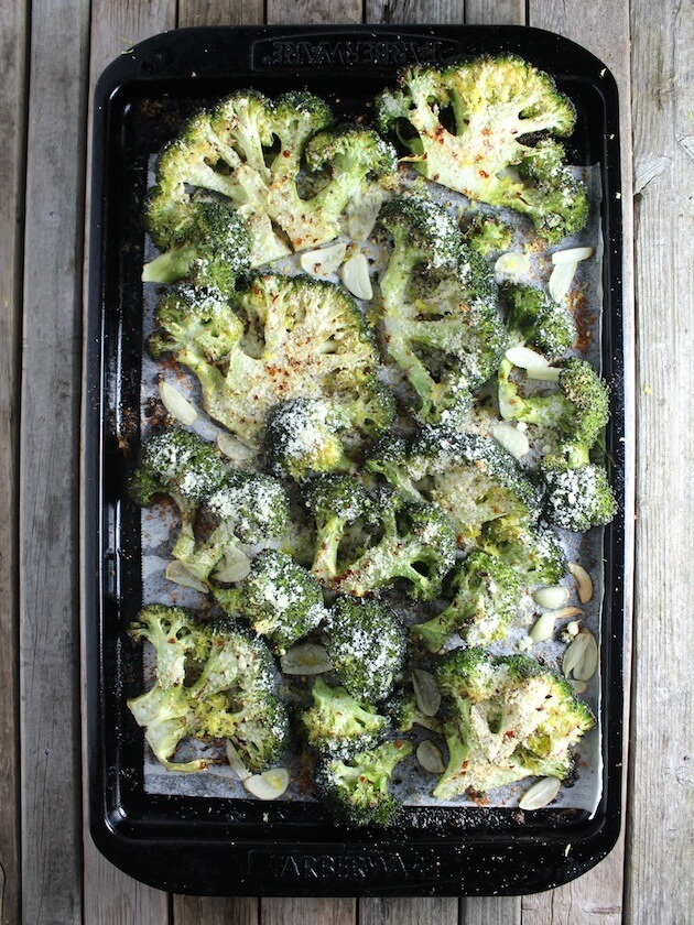 Roasted Parmesan Broccoli Recipe