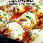 Italian meatballs in skille