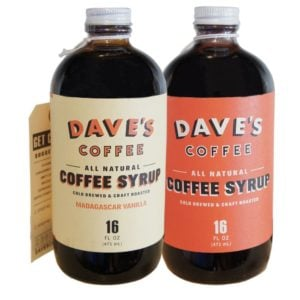 Amazon Dave's Cold Brewed Coffee Syrup