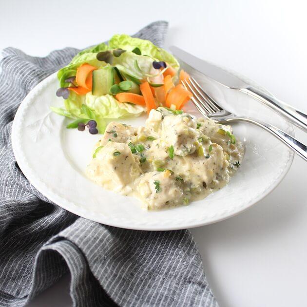 EL plate with salad 2