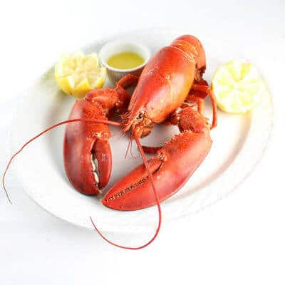 Boiled Lobster with Drawn Butter #SundaySupper