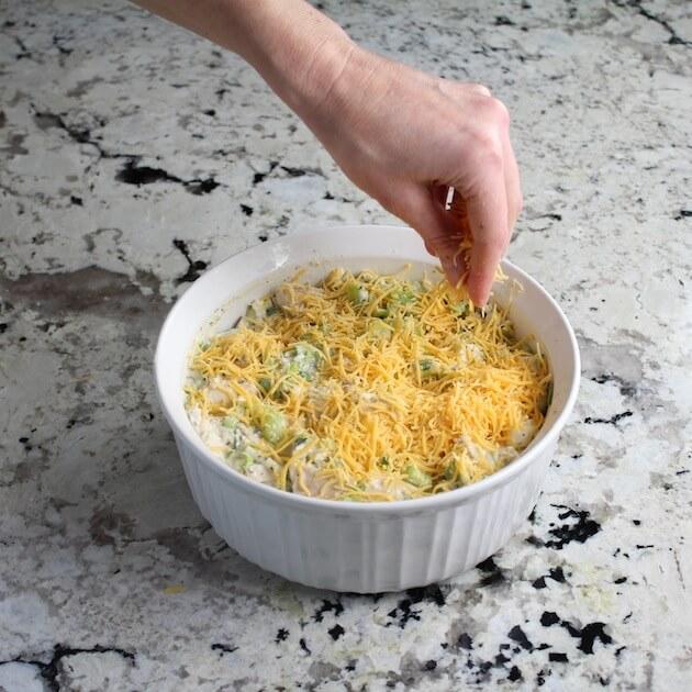 Cheesy Hot Chicken Salad