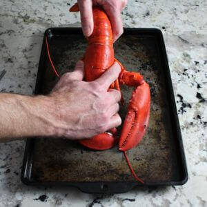 Boiled Lobster with Drawn Butter