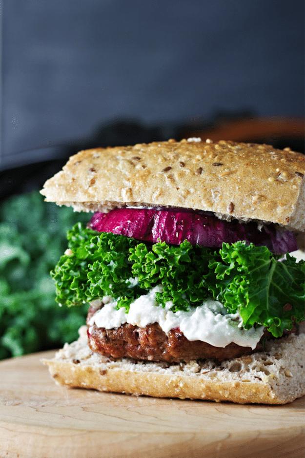 16 Kale Burger