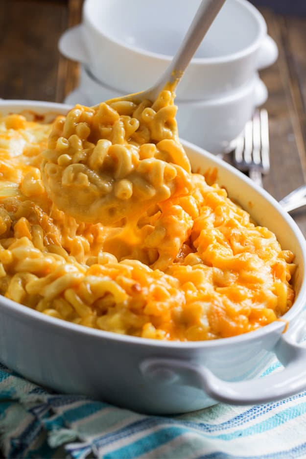 velveeta-mac-and-cheese-in a serving dish