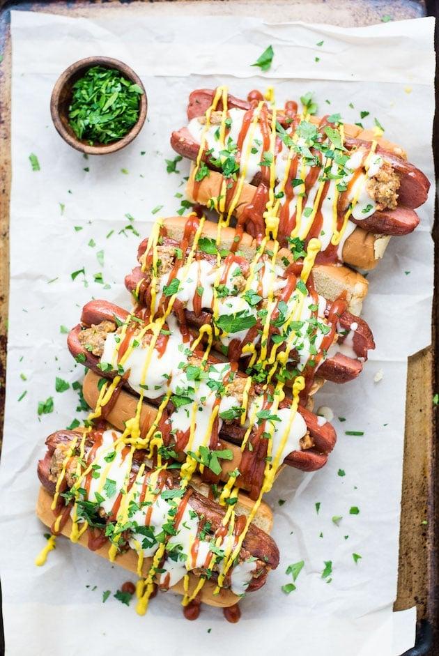 cheeseburger hot dog