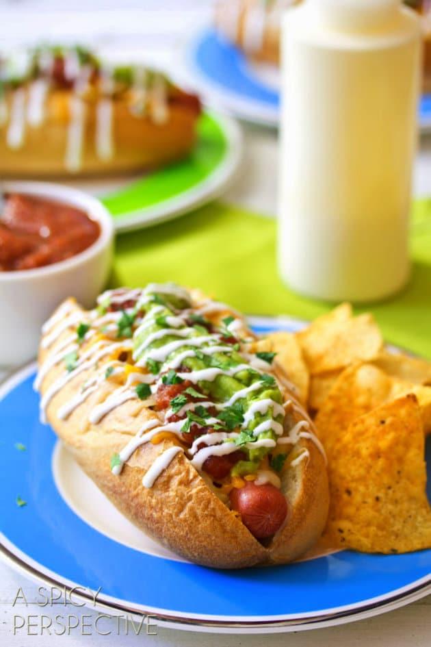 Nacho Hot Dog