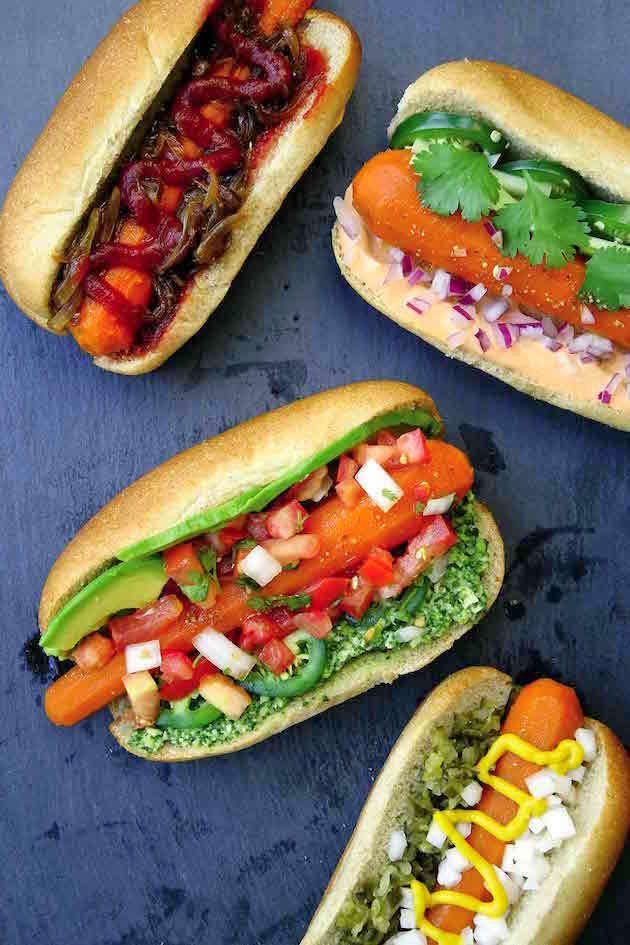 carrot hot dogs recipe