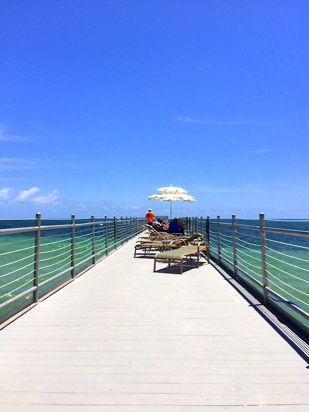 Key West Southernmost Beach Resort Tanning Pier