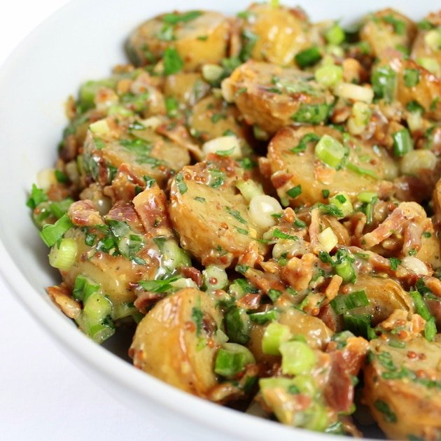 Smoky Salt and Vinegar Potato Salad