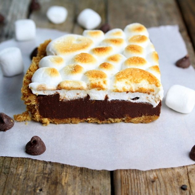 Baked Nutella S'mores