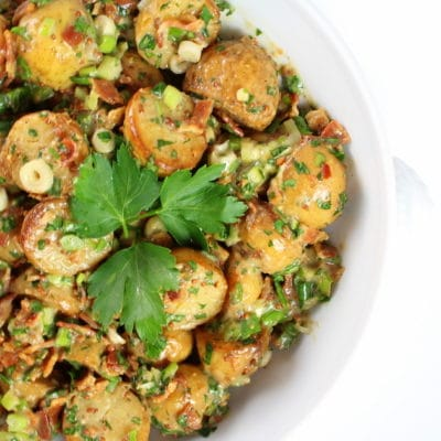 Smoky Salt and Vinegar Potato Salad Recipe