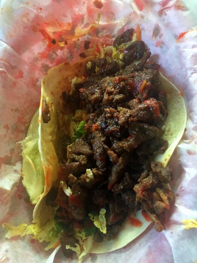 Beef Bulgogi Taco from Garbo\'s Grill in Key West, FL