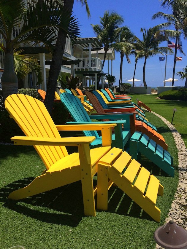 Key West Southernmost Beach Resort - Lawn Chairs