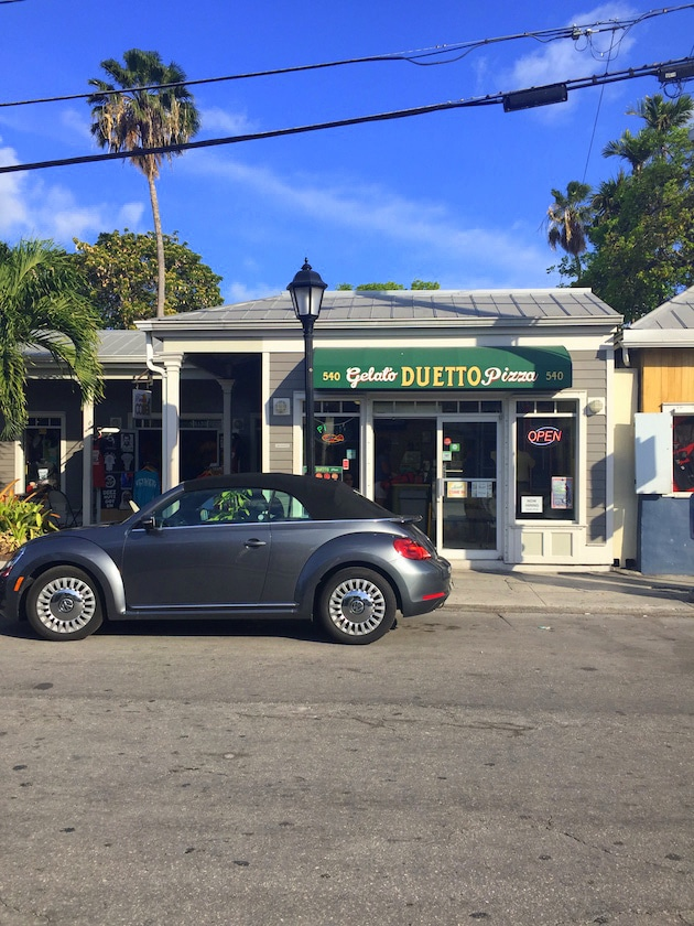 Duetto Pizza & Gelato shop in Key West, FL