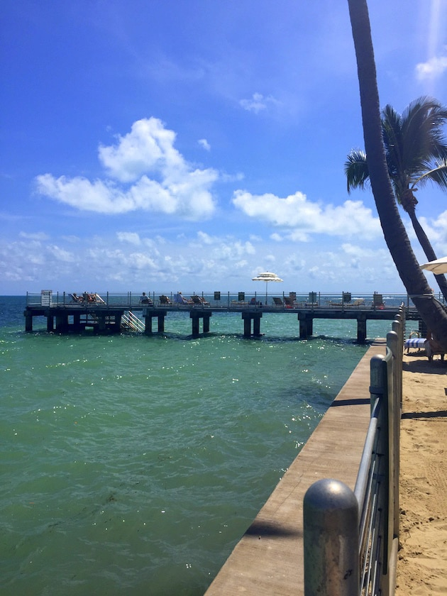 Tanning Pier at Southernmost Beach Resort Key West FL