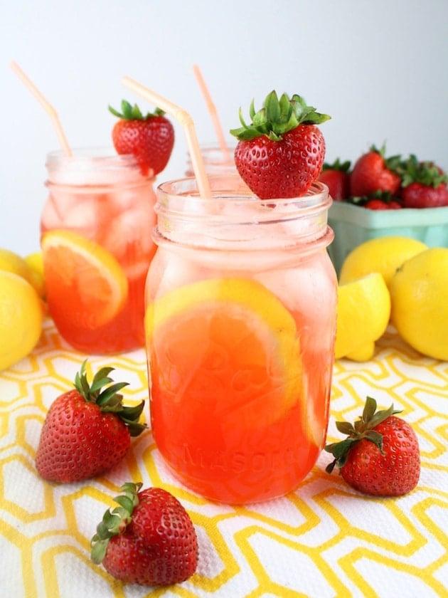 Loaded Strawberry Lemonade