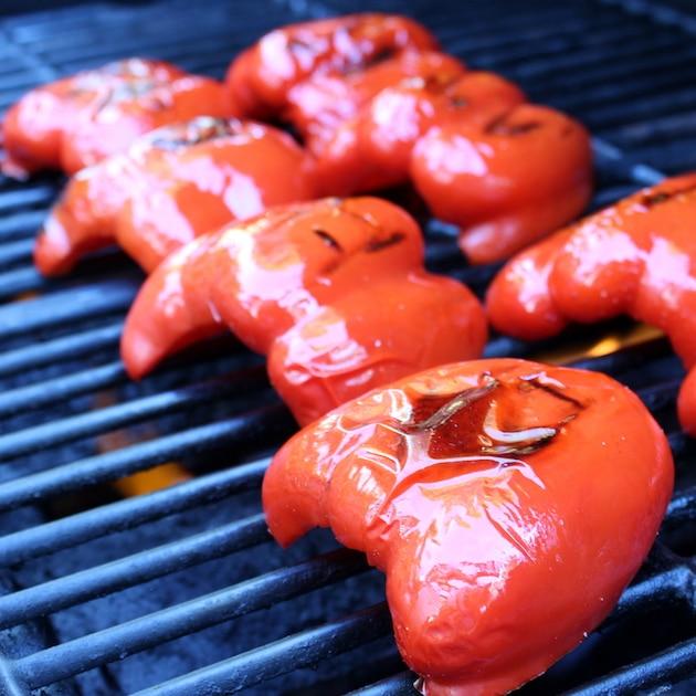 Smoked Mozzarella Chorizo Peppers