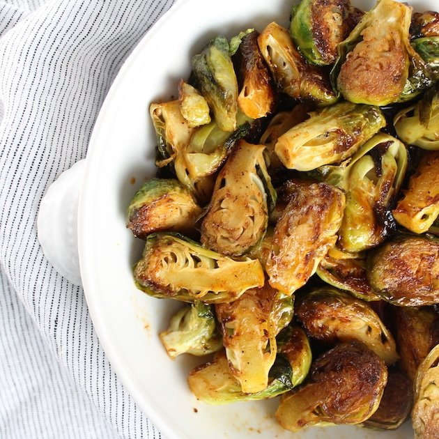 Spicy and Sweet Brussels Sprouts