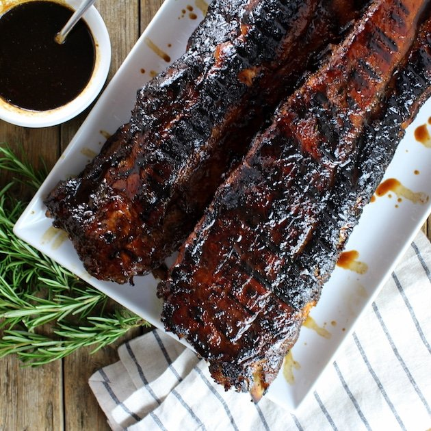 Balsamic Baby Back Ribs